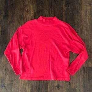 Forenza mock turtleneck